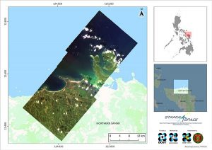 Image 1. Diwata-1's last mission was to gather satellite images of Samar. This image was captured on December 28, 2019.